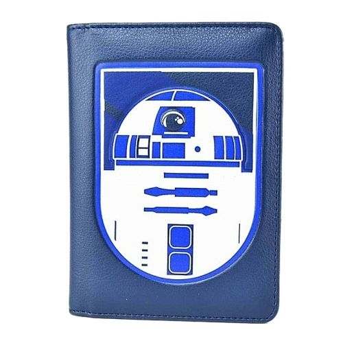 Star Wars R2-D2 Droid Passport Holder Card Travel Wallet